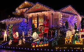 dubshit christmas light show has gone viral on the internet