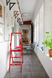 Ceiling Mount Storage by 8 Sneaky Small Space Solutions Small Spaces Apartment Therapy