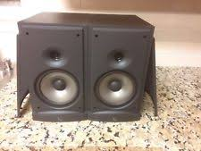 Mtx Bookshelf Speakers Infinity Tss Sat800 Pair Of High End Home Theater Speakers 8ohm Ebay