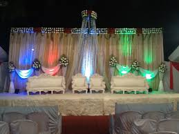 Marriage Decorations Open Ground Lawn Type Hall Available With Decoration For Marriage