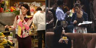 gilmore girls thanksgiving episode who spent more on coffee gilmore girls or friends
