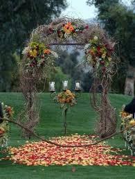 outdoor fall wedding ideas 36 fall wedding arch ideas for rustic wedding arch wedding and