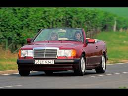 1991 1997 mercedes benz 124 series cabriolets ce 24 red front
