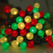 bohong led pearlized glass g15 christmas lights white red and
