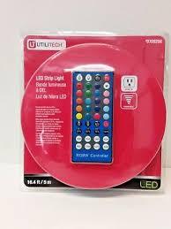 utilitech led strip light 12 ft utilitech led strip light 0709210 12 ft brand new sealed 14 18