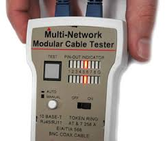 how to test rj45 terminated cables