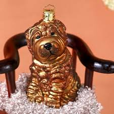 shar pei ornament by ornaments to remember