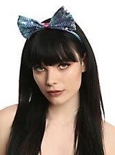 bow headband lavender white lace bow headband hot topic