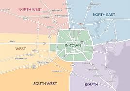 map of houston area houston area church map