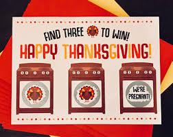 thanksgiving pregnancy announcement etsy