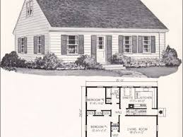 sears homes floor plans opulent design ideas cape cod house plans 1940s 11 sears homes