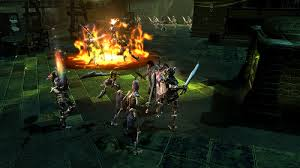 dungeon siege 3 dungeon siege iii brings accessible controls bountiful co op to ps3