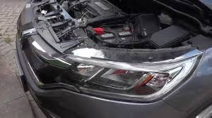 honda crv headlight replacement how to change a high beam bulb honda cr v 2015 2016