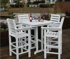 Ebay Patio Furniture Sets - furniture pleasing wood patio furniture with bench splendid