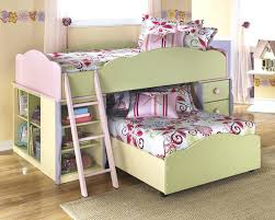 childrens loft beds with desk image of girls kids loft bed with