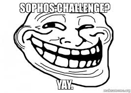Yay Meme Face - sophos challenge yay make a meme