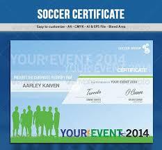 soccer football certificate certified certificates pinterest
