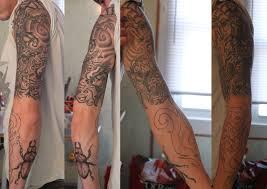 Half Sleeve Arm - left arm half sleeve by davidgrice on deviantart