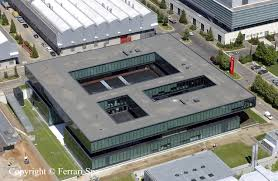 ferrari factory building new ferrari factory in maranello in photographies ferrrai