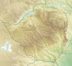 Zimbabwe Map File Zimbabwe Relief Location Map Jpg Wikimedia Commons