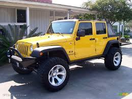 yellow jeep wrangler unlimited 2008 jeep wrangler unlimited news reviews msrp ratings with