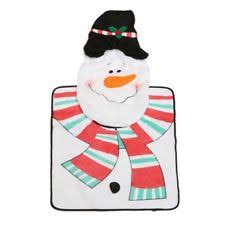 Snowman Rug Christmas Bathroom Rugs Ebay