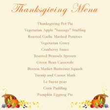 traditional vegetarian thanksgiving why veg