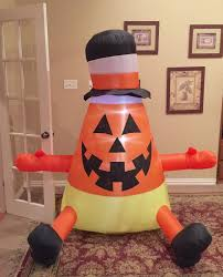 image gemmy prototype halloween candy corn inflatable airblown