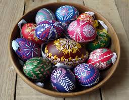 talking easter eggs happy easter traditional of decorating eggs in slovakia