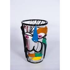 Italian Vase Italian Venetian Murano Glass Vase U0026 Decor Vintage And Antique