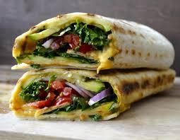 cuisine rapide et facile recette wrap fait maison rapide facile et équilibré à déguster