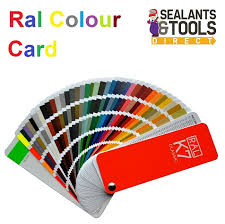 jotun k7 classic ral colour swatch card