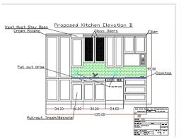 Kitchen Cad Design Autocad Kitchen Design Interior Design Kitchen Cad Block Autocad