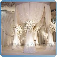 wedding backdrop prices 61 best criss cross curtain backdrops images on