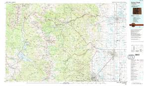 Colorado Maps by Rocky Mountain Maps Npmaps Com Just Free Maps Period