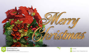 christmas greeting card 3d gold text stock illustration image