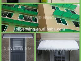 Shade Awnings Durable Easy Assembly Polycarbonate Clear Aluminium Diy Sun Shade
