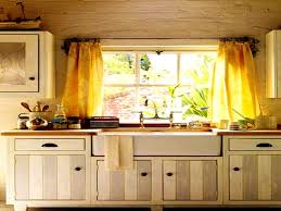 furniture personable kitchen curtain ideas for bay window