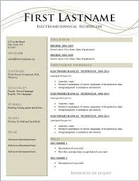 basic resume templates creative resume templates best 25 template free ideas on