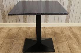 industrial restaurant tables handmade to order vintage style steel