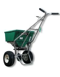 amazon com lesco 101186 high wheel walk behind fertilizer