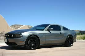 2010 Mustang Black Rims New Wheels Tires Mustang Evolution