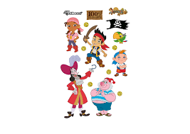 disney jake neverland pirates collection wall decal shop
