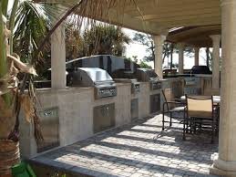 outdoor kitchen backsplash ideas kitchen beautiful outdoor kitchen counter and brown brick