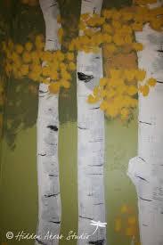 hidden akers studio aspen tree stand mural detail 2012