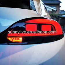vw led tail lights for vw 2009 2014 scirocco led tail light rear l in car light