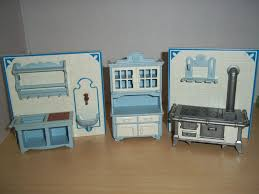 playmobil victorian mansion 3 piece kitchen from 5322 dollhouse