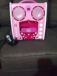 singing machine with disco lights kids the singing machine disco light up karaoke sml 383p pink