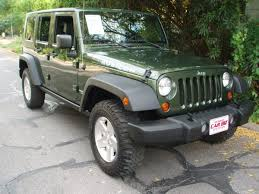 2007 green jeep wrangler 2007 jeep forest green rubicon 4 door wrangler