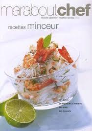 livre cuisine minceur vente livre maraboutchef recettes minceur achat livre cuisine